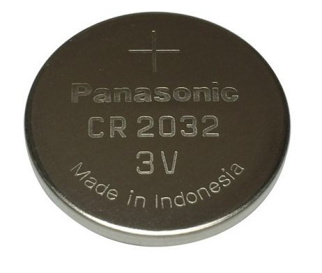 Panasonic CR2032 3V Lithium Coin Battery