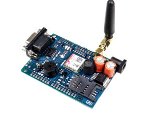 Sim800C GPRSGSM Shield with Antenna