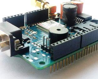Sim800C GPRSGSM Shield with Antenna