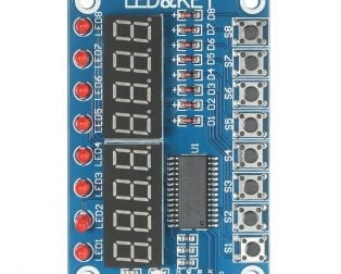 TM1638 Button Digital LED Display Module