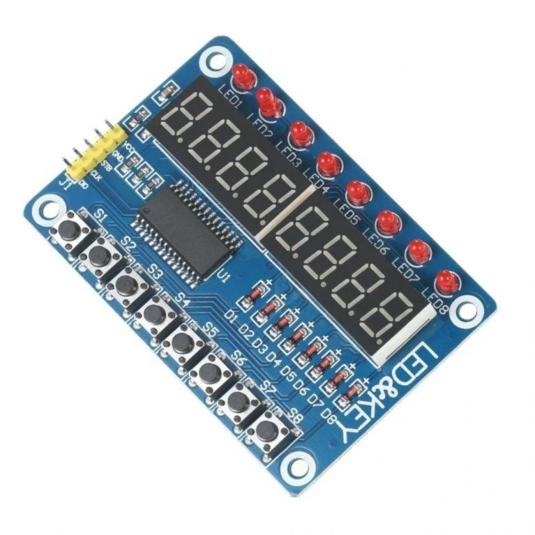 TM1638 Button Digital LED Display Module