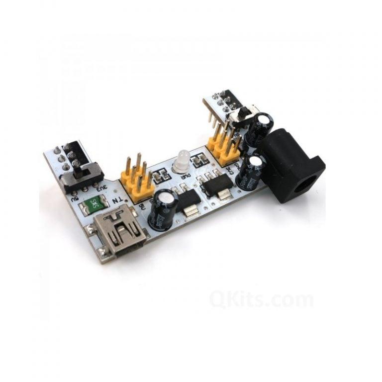 XD-42 5V3.3V Dual Channel Solderless Breadboard Power Supply Module