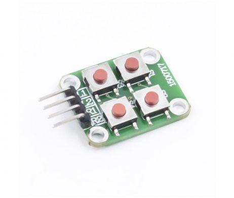 2 x 2 Matrix 4 Push Button Keyboard Module