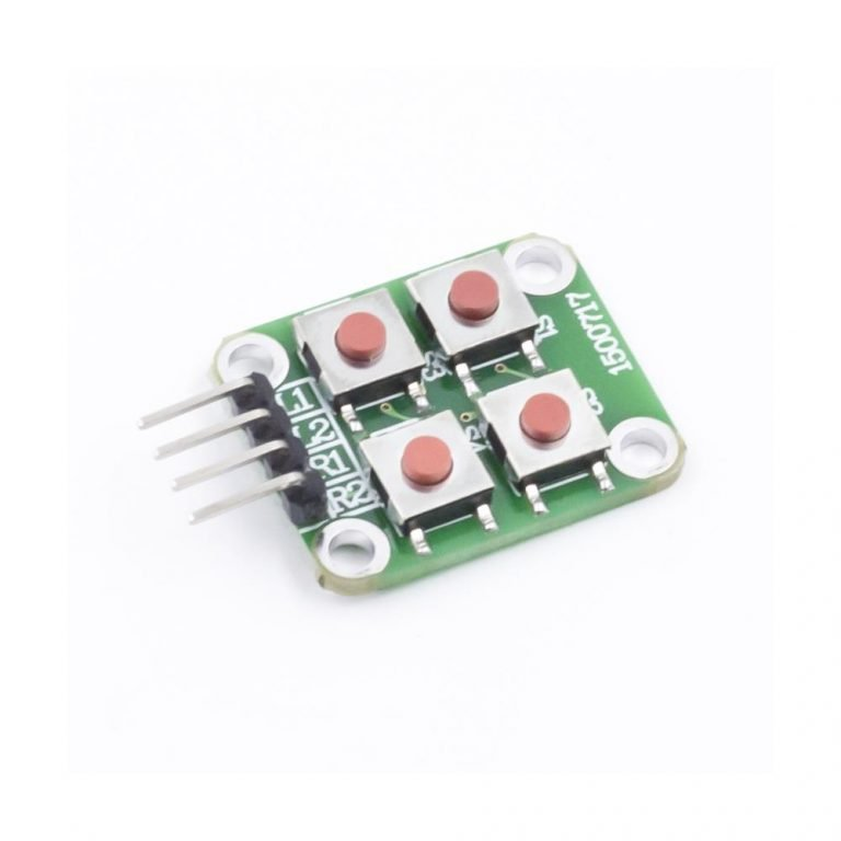 2 x 2 Matrix 4 Push Button Keyboard Module