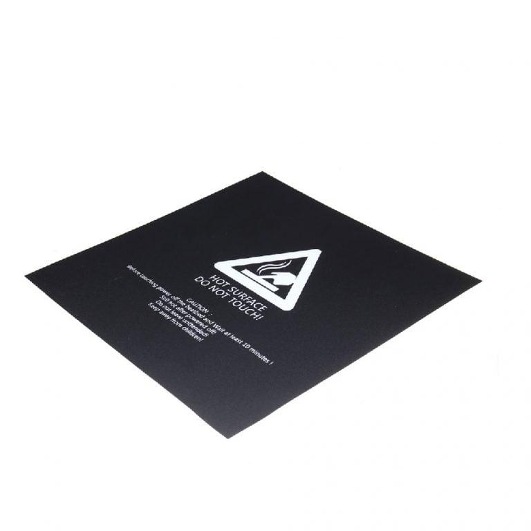 220 x 220 x 0.5 mm 3D Printer Hot Bed Tape Sticker Build Plate Tape