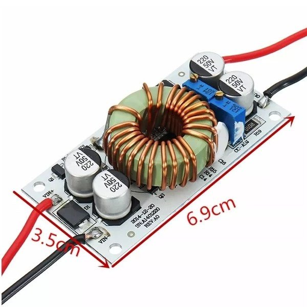250W High Power Constant voltage Current Adjustable Aluminum Substrate LED Driver Module- ROBU