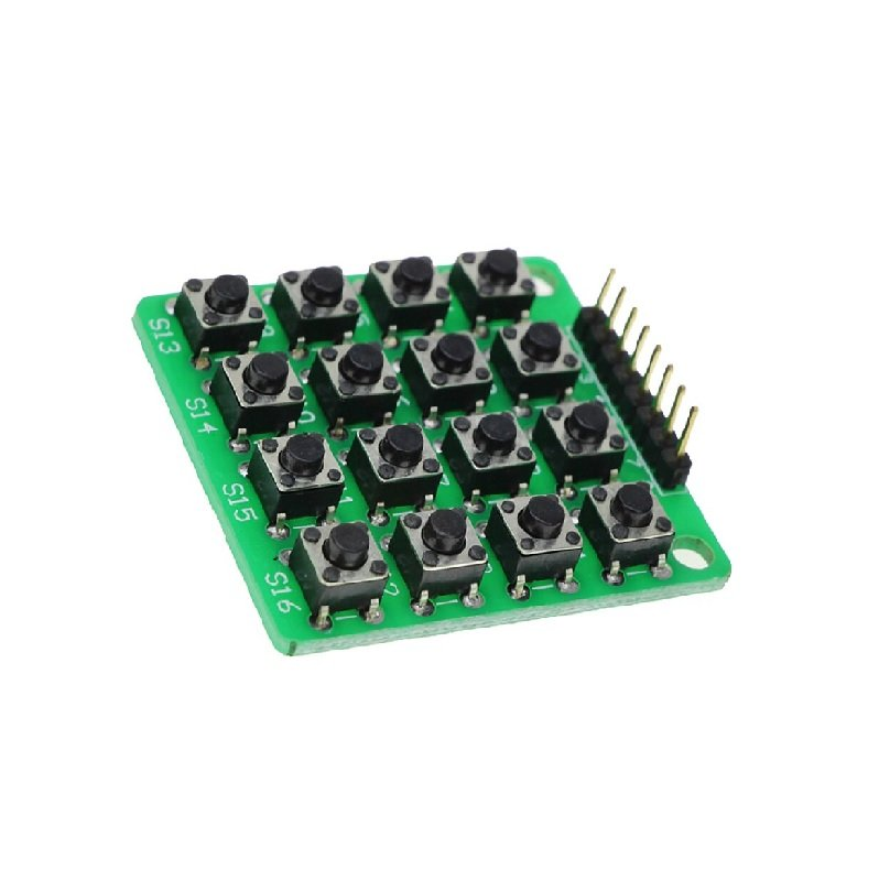 4x4 Matrix 16 Keypad Keyboard Module 16 Button MCU - Robu in | Indian  Online Store | RC Hobby | Robotics