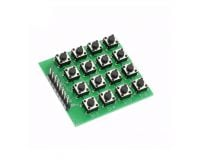 4x4 Matrix 16 Keypad Keyboard Module 16 Button MCU