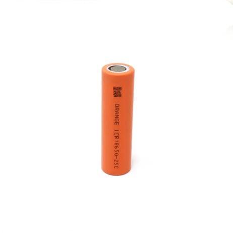 Orange ICR 18650 2500mAh Lithium-Ion Battery