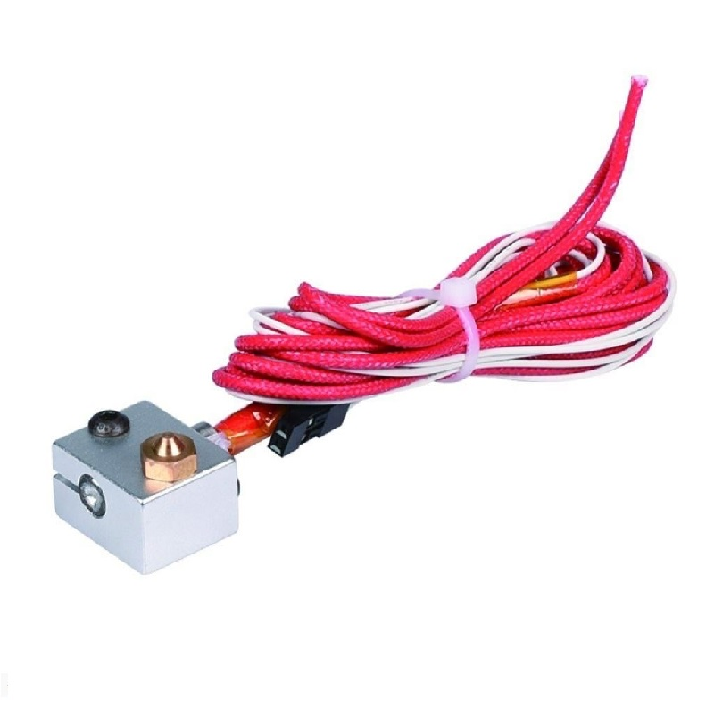All complete Bowden V6 with Fan Cable 30cm Length for 1.75 mm filament 0.2 mm Nozzle