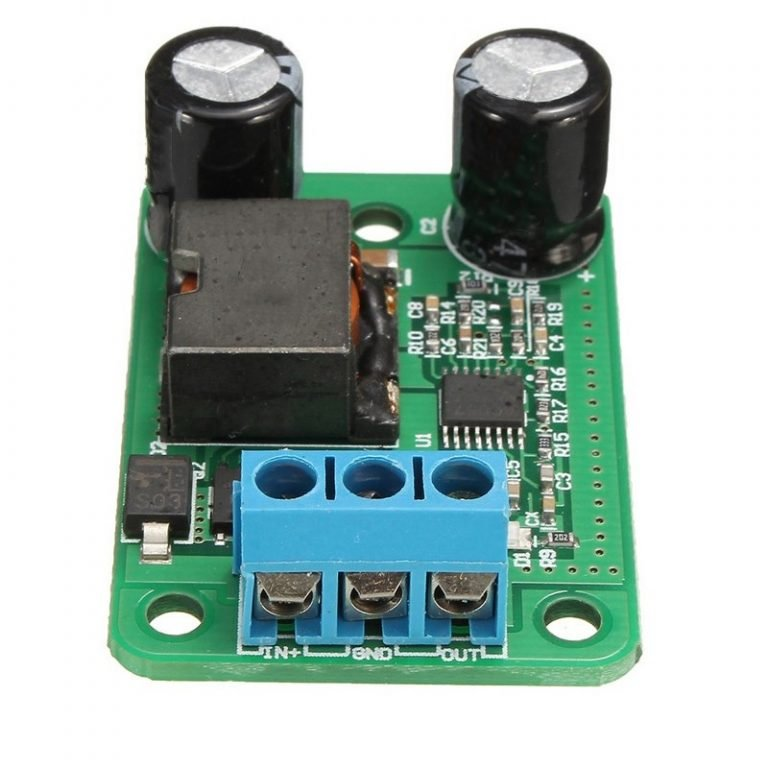 DC-DC Step-Down Buck Converter Power Supply Module 24V 12V 9V to 5V 5A 25W