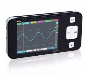 DS211 Mini Pocket Portable Oscilloscope