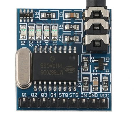 MT8870 DTMF AudioSpeech Decoding Telephone Module
