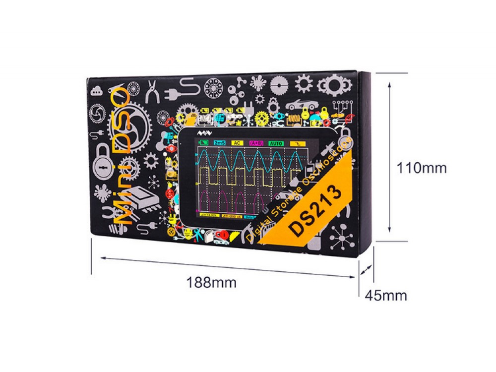 Mini Oscilloscope DS213 - Robu in | Indian Online Store | RC Hobby |  Robotics