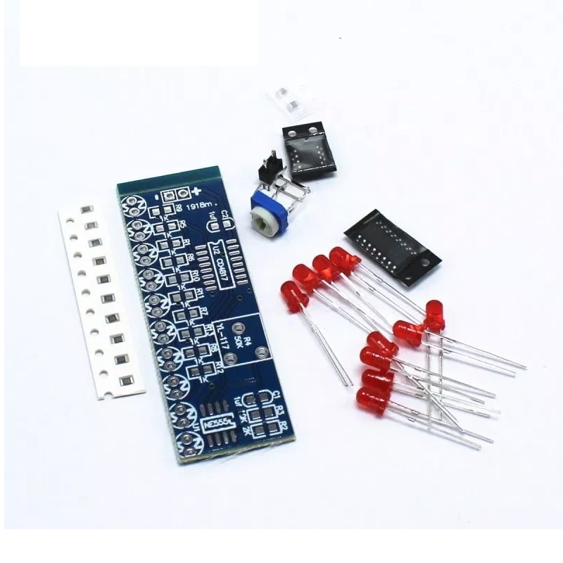 Ne555 Cd4017 Ne555 Driver Water Powered Board Circuit Water Flowing Light Led Electronic Module Diy Kit Running Light Drive Special Summer Sale Active Components Electronic Components & Supplies