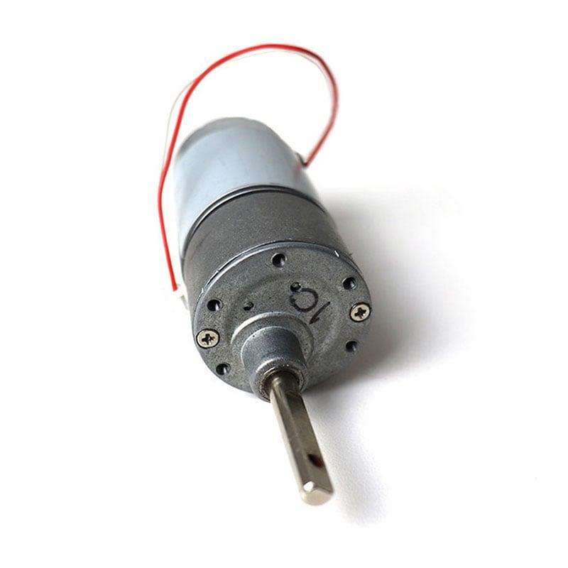 RS-37 10 RPM High Torque Side Shaft DC Geared Motor