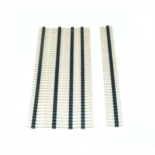 1x40 Berg Strip Male Connector