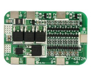 6S 15A Li-ion Lithium Battery 24V 18650 Charger Protection Board