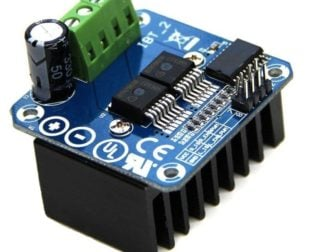 Double BTS7960 43A H-Bridge High-Power Stepper Motor Driver Module