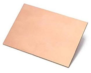 FR4 Copper Clad Laminate Double Side PCB 100 x 75 x 1.5 mm