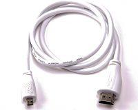 Micro HDMI (Male) to Standard HDMI (Male) Cable for Raspberry Pi 4