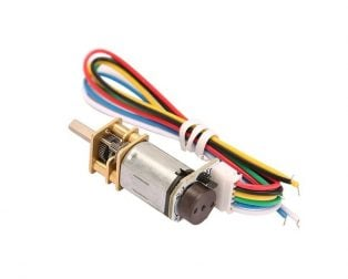 Micro Gear Motor with Encoder