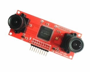 OV2640 Binocular Camera Module CMOS STM32 Driver 3.3v 16001200 for 3D Measurement with SCCB Interface