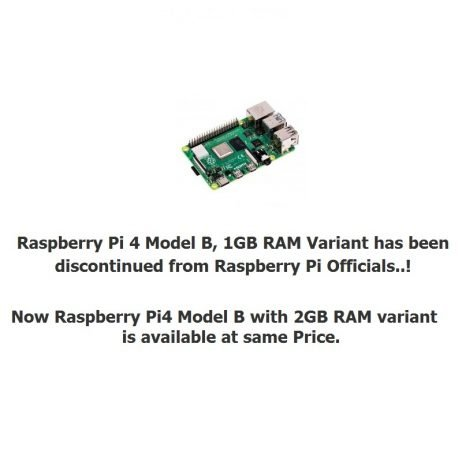 Official Update from Raspberry Pi: Pi4 Model B_ 1GB RAM