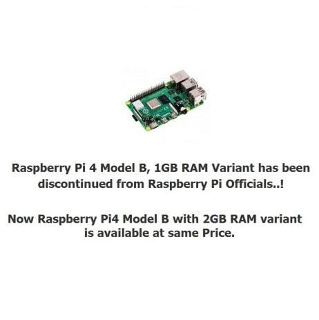 Official Update from Raspberry Pi: Pi4 Model B_ 1GB RAM