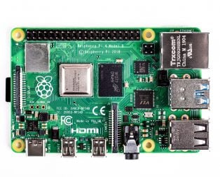 Raspberry Pi 4 Model-B with 1 GB RAM--TOPVIEW