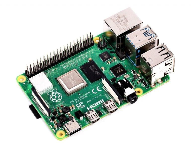 (Robu.in)Raspberry Pi 4 Model-B with 1 GB RAM