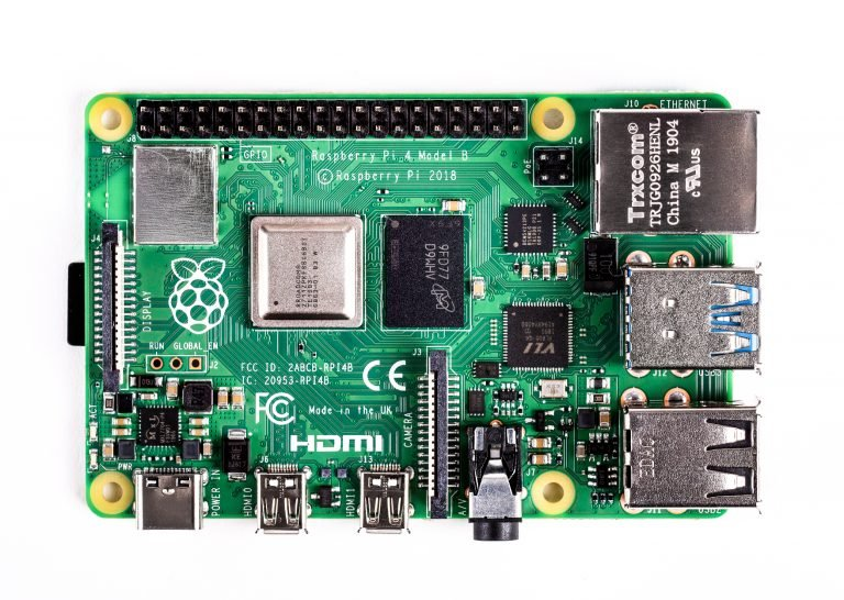 Raspberry Pi 4 Model-B with 2 GB RAM--TOPVIEW