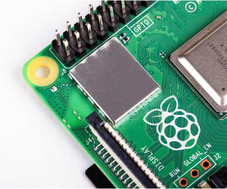 Raspberry Pi 4 Model-B with 2 GB RAM--WIFI_Module
