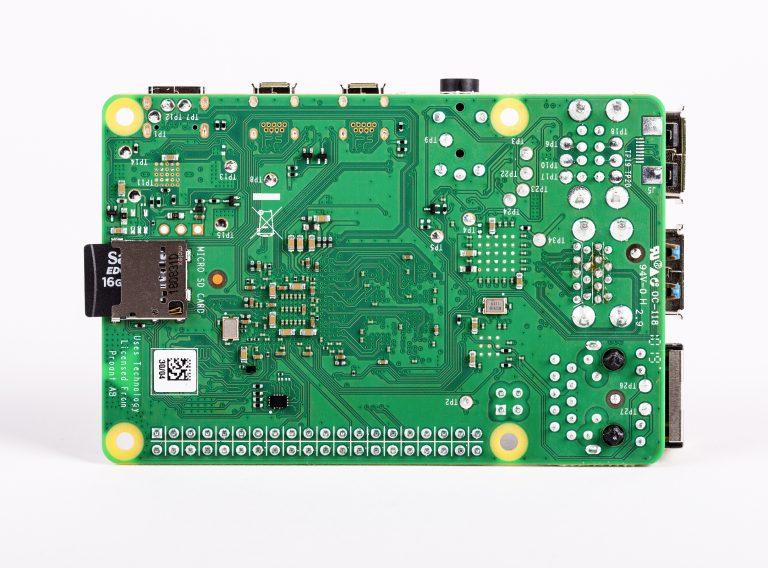 Raspberry Pi 4 Model-B with 4 GB RAM--Bottom