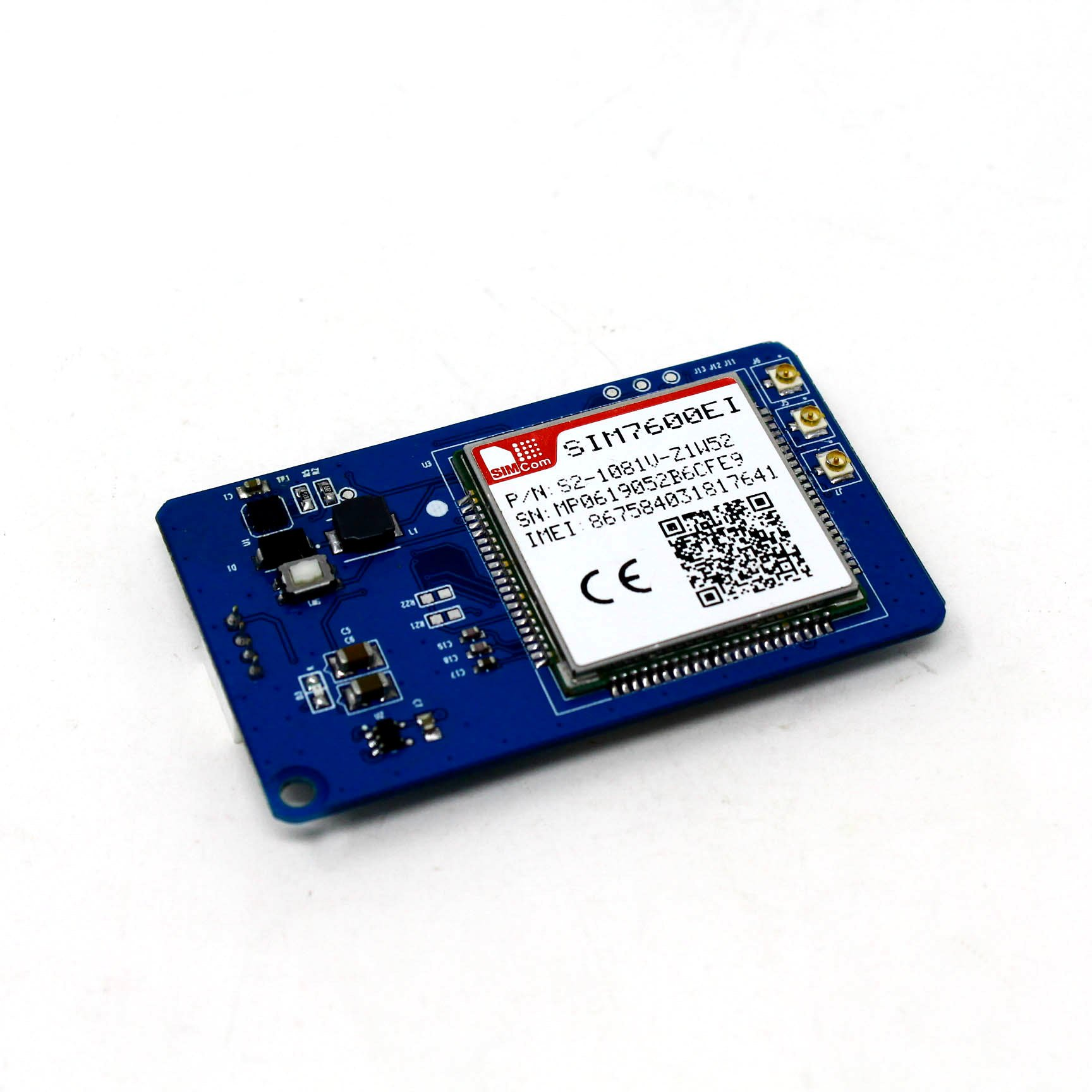 SIM7600EI 4G LTE High-Speed Modem GPS/GNSS IoT board