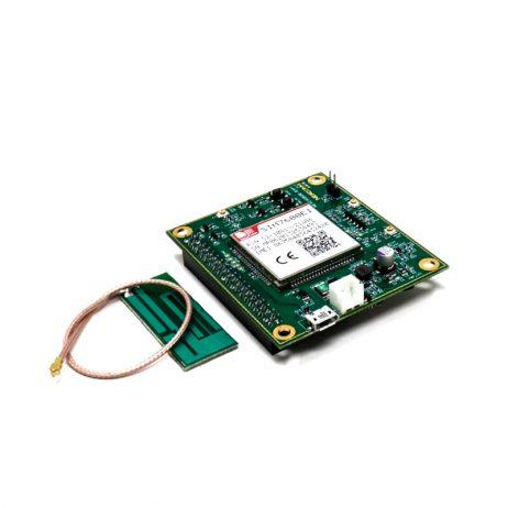 SIM7600EI 4G LTE High-Speed Modem GPS/GNSS IoT board Raspberry Pi Compatible