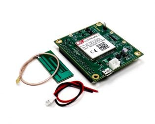 SIM7600EI 4G LTE High-Speed Modem GPS/GNSS IoT board Raspberry Pi Compatible
