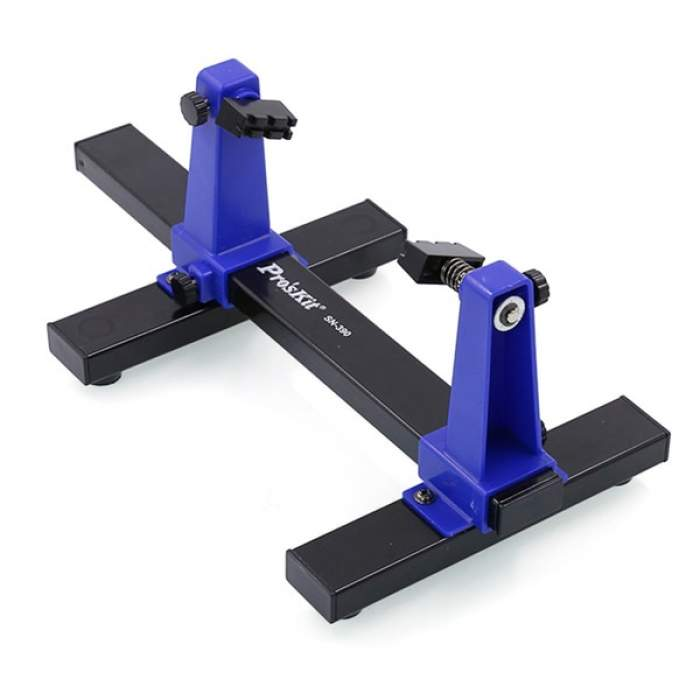 SN390 Adjustable Printed Circuit Board Holder Frame PCB Soldering Assembly Stand Clamp