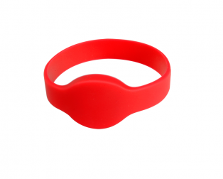 Silicone Wristband RFID Bracelet Tag