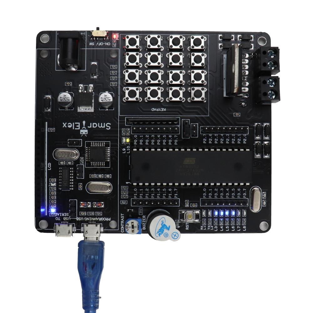 SmartElex AT89S52 Development Board.