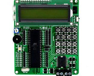SmartElex AT89S52 Development Board with LCD