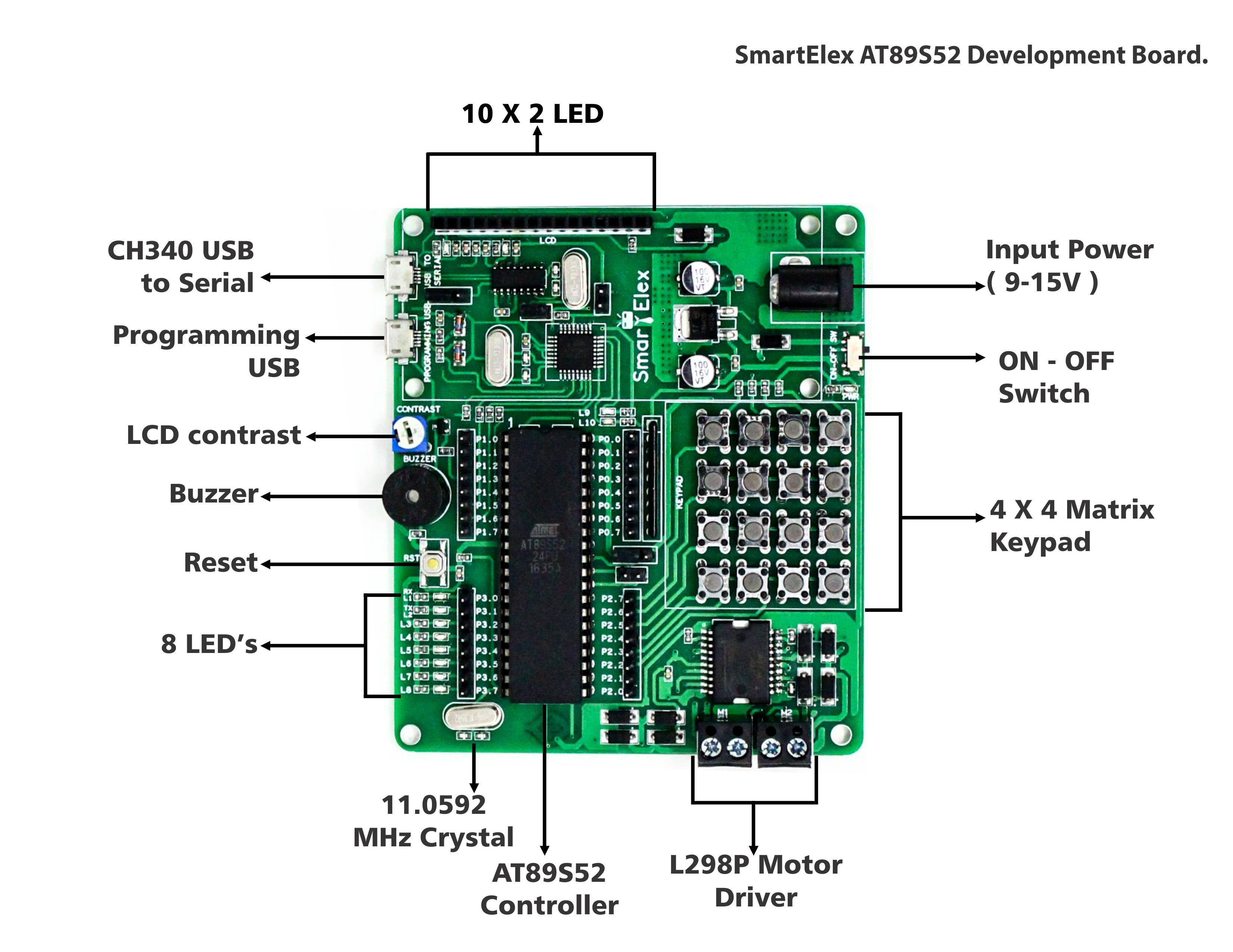 SmartElex AT89S52