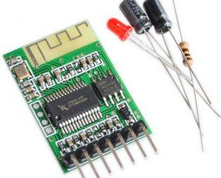 Stereo Wireless Speaker Bluetooth 4.0 Audio Receiver Module