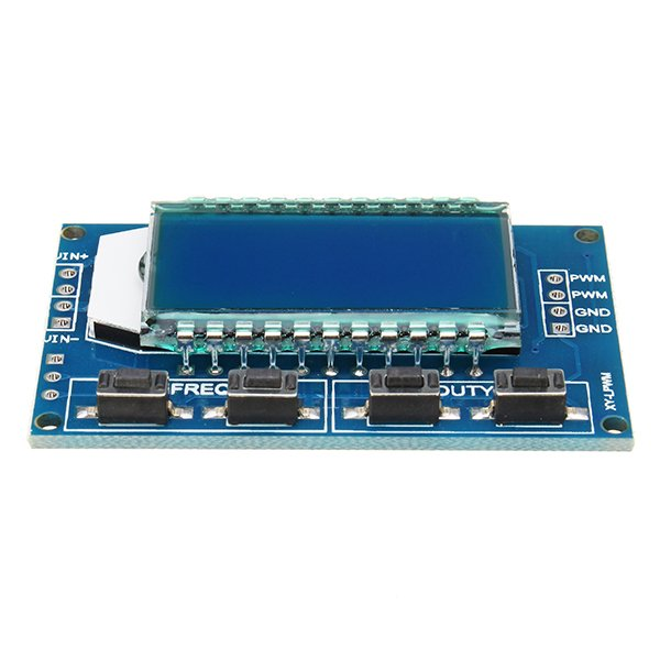 XY-LPWM Signal Generator PWM Pulse Frequency Duty Cycle Adjustable Module LCD Display Module