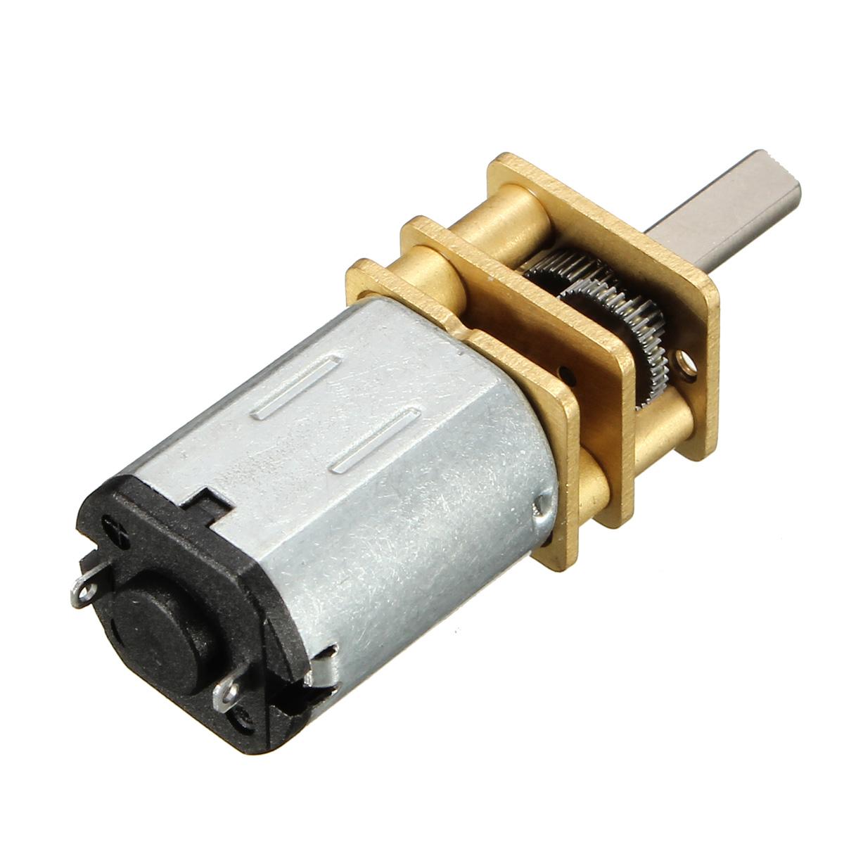 N20-3V-15 Rpm Micro Metal Gear-box DC Motor