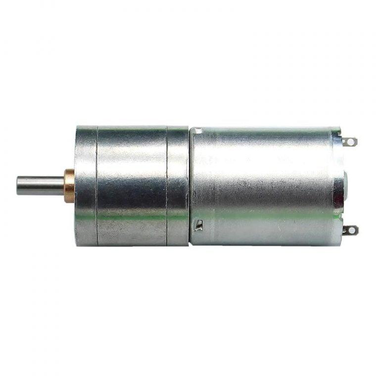25GA-370-6V-130 RPM DC Gear Motor