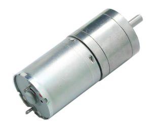 25GA-370-24V-130 RPM DC Gear Motor