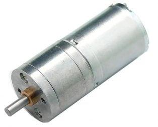 25GA-370-6V-280 RPM DC Gear Motor