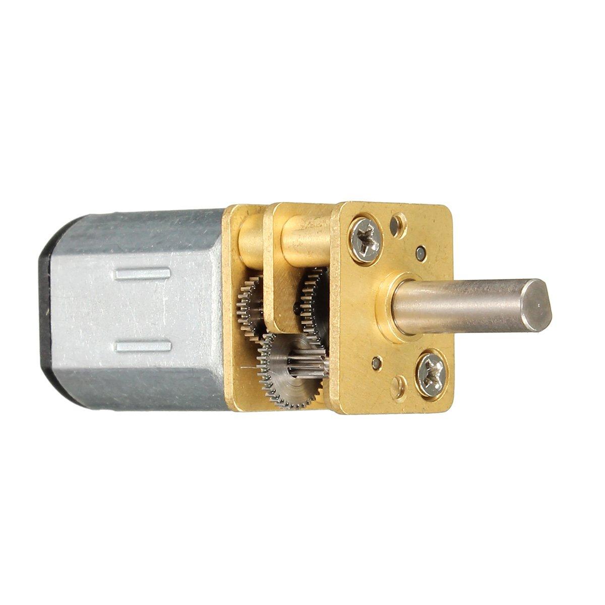 N20-6V-30 RPM Micro Metal Gear-box DC Motor