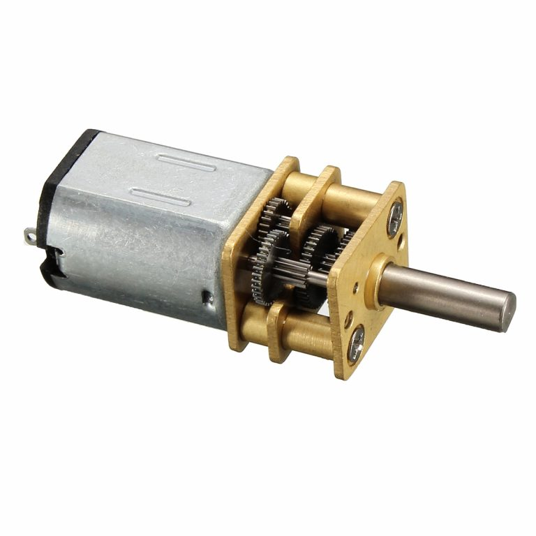 N20-3V-300 Rpm Micro Metal Gear-box DC Motor